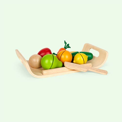 Multi Plan Toys Fruit and Vegetables Set