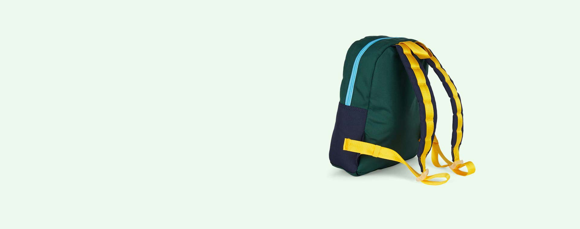Navy/Green STATE Bags Mini Kane Colour Block Backpack