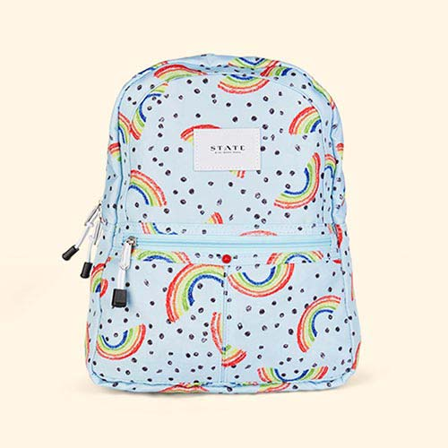 Rainbow STATE Bags Mini Kane Printed Canvas Backpack