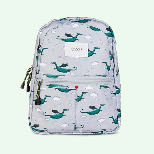 Dragons STATE Bags Mini Kane Printed Canvas Backpack