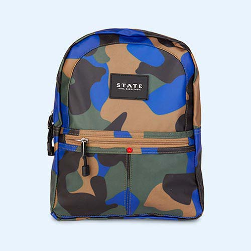 Camo STATE Bags Mini Kane Camo Backpack