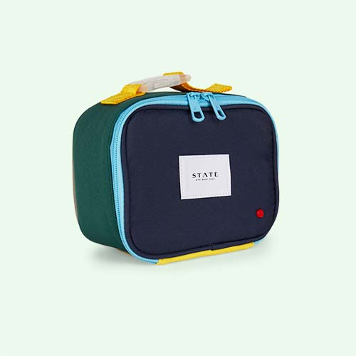 Navy/Green STATE Bags Ryder Snack Pack