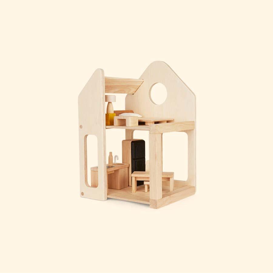 Neutral Plan Toys Slide N Go Dollhouse