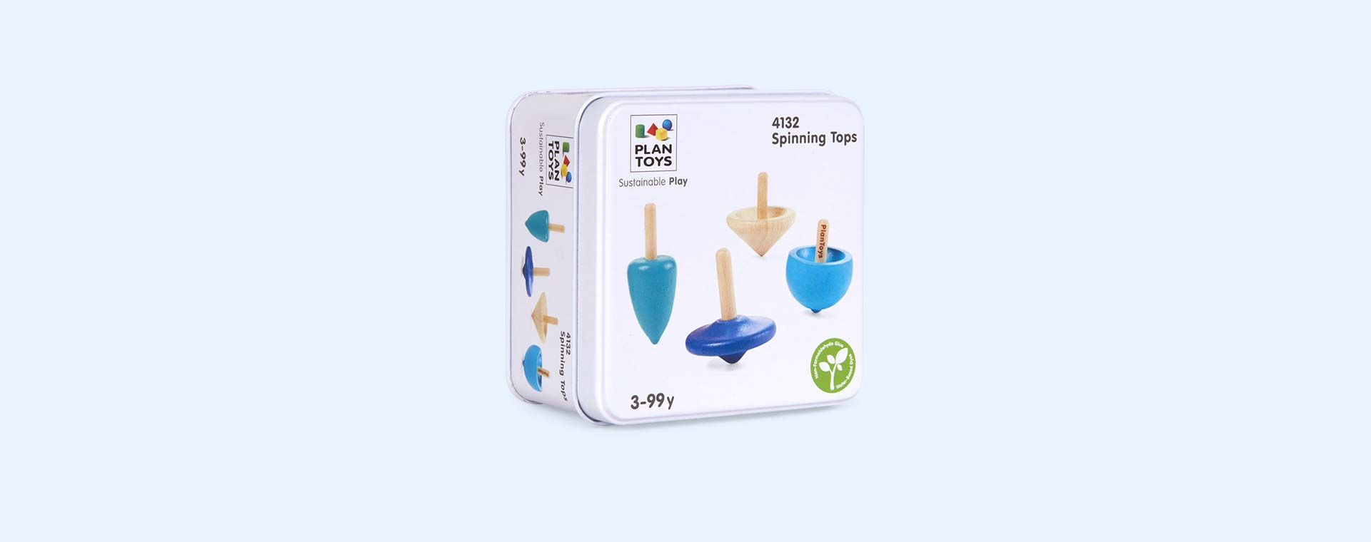 Multi Plan Toys Mini Spinning Tops Game