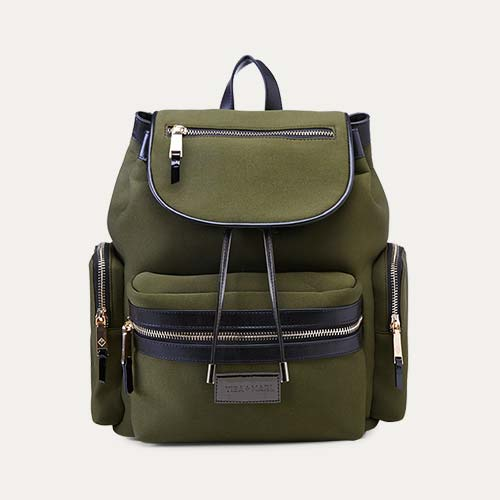 Khaki Tiba + Marl Kaspar Scuba Backpack