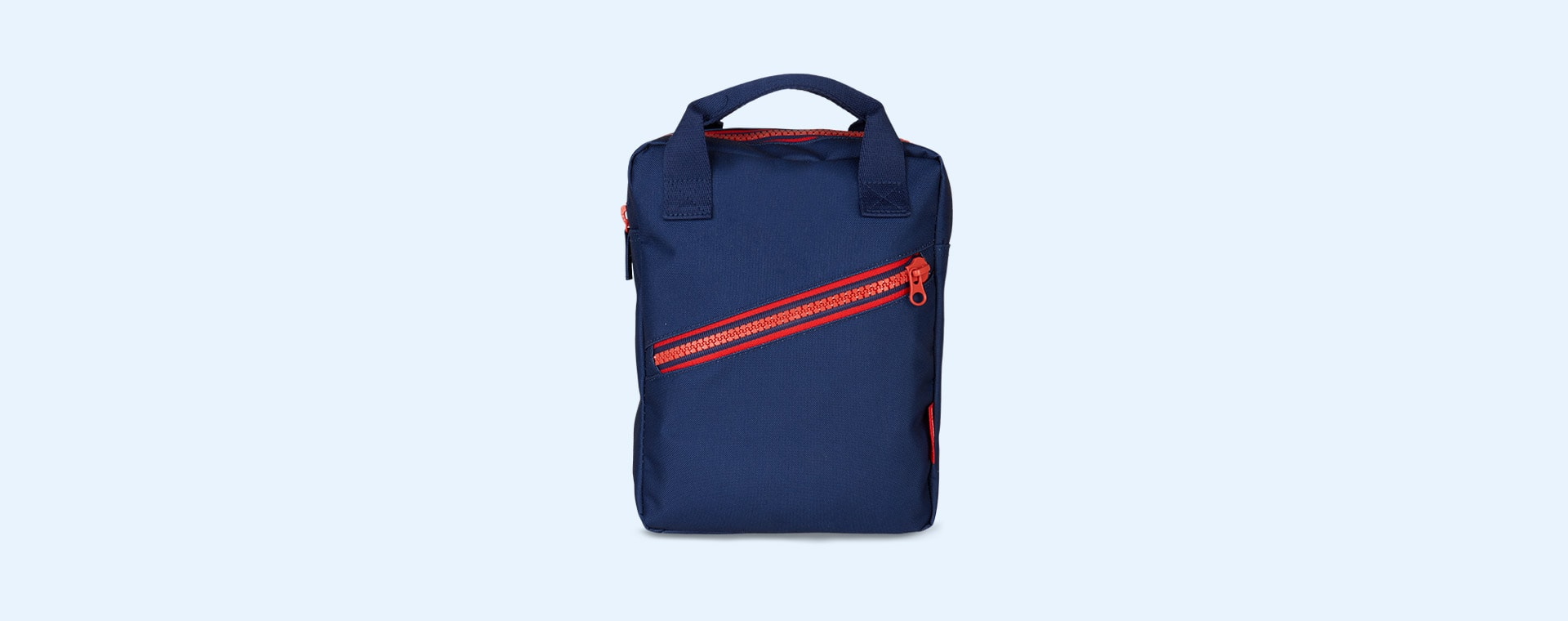 Navy Engel Zipper Backpack
