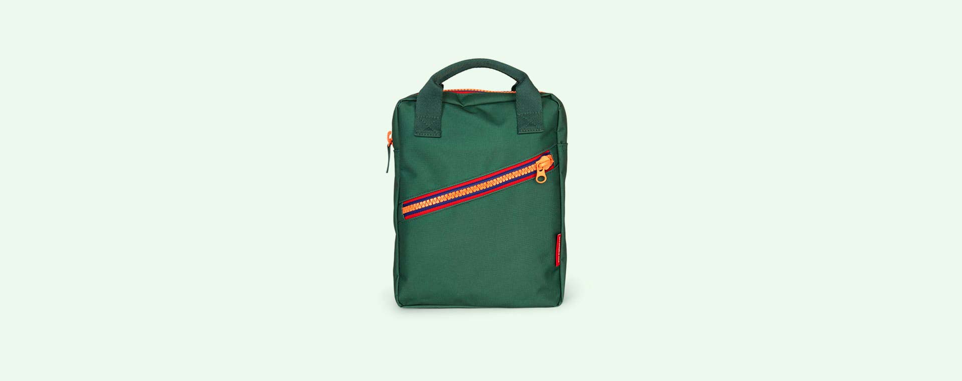 Green Engel Zipper Backpack