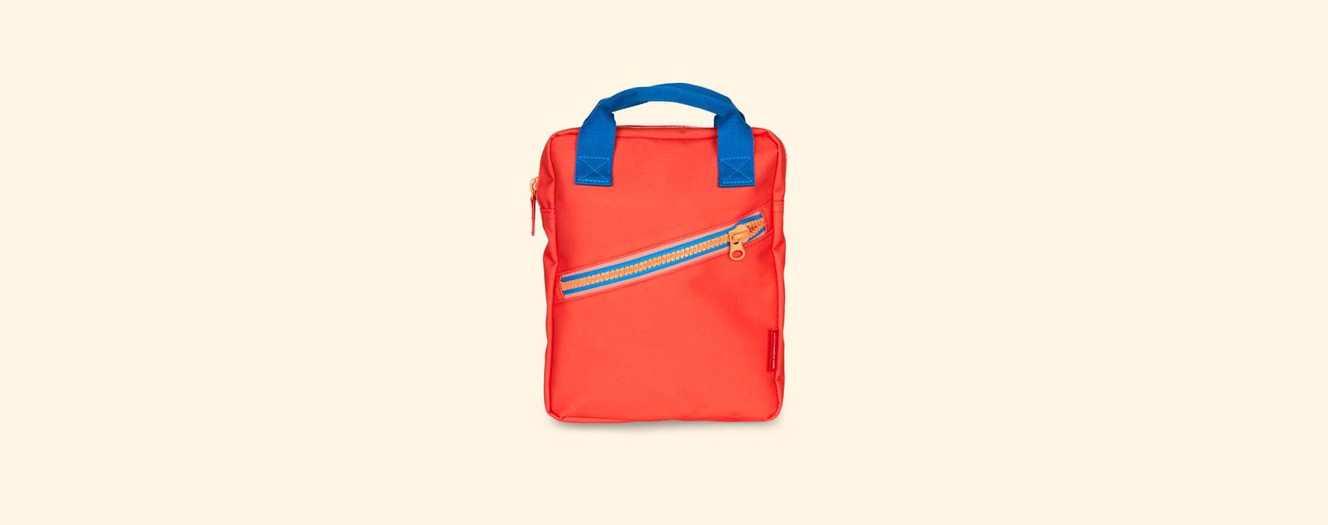 Red Engel Zipper Backpack
