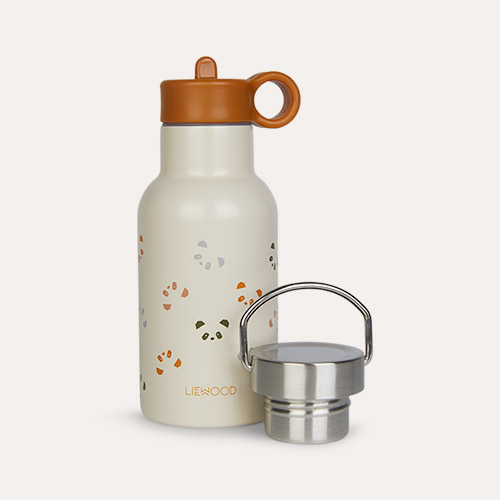 Panda Mustard Multi Mix Liewood Anker Water Bottle