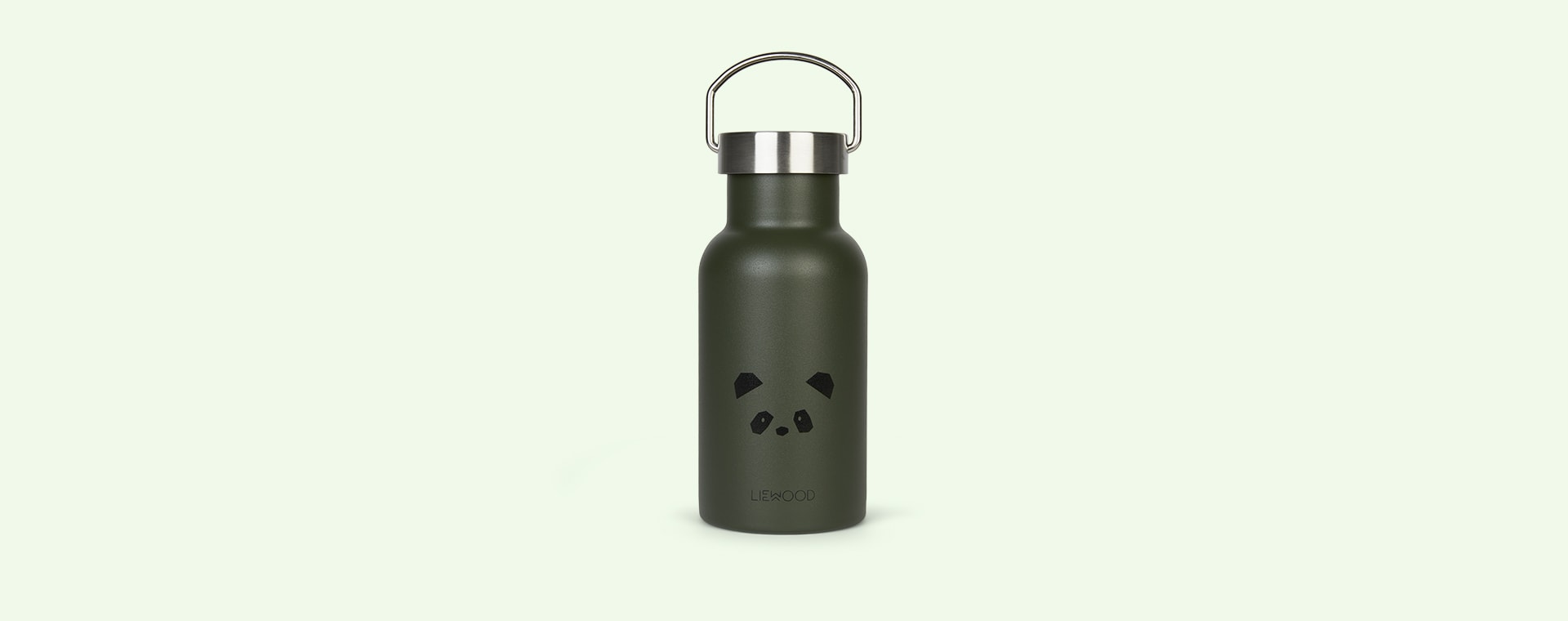 Panda Hunter Green Liewood Anker Water Bottle