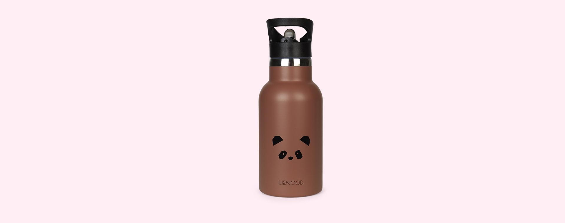 Panda Dark Rose Liewood Anker Water Bottle