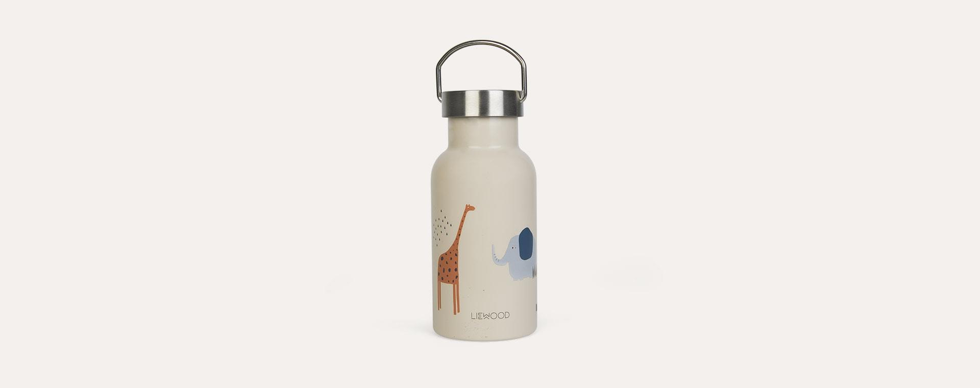 Safari sandy mix Liewood Anker Water Bottle