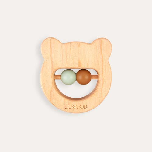 Neutral Liewood Ivalu Mr Bear Wooden Teether