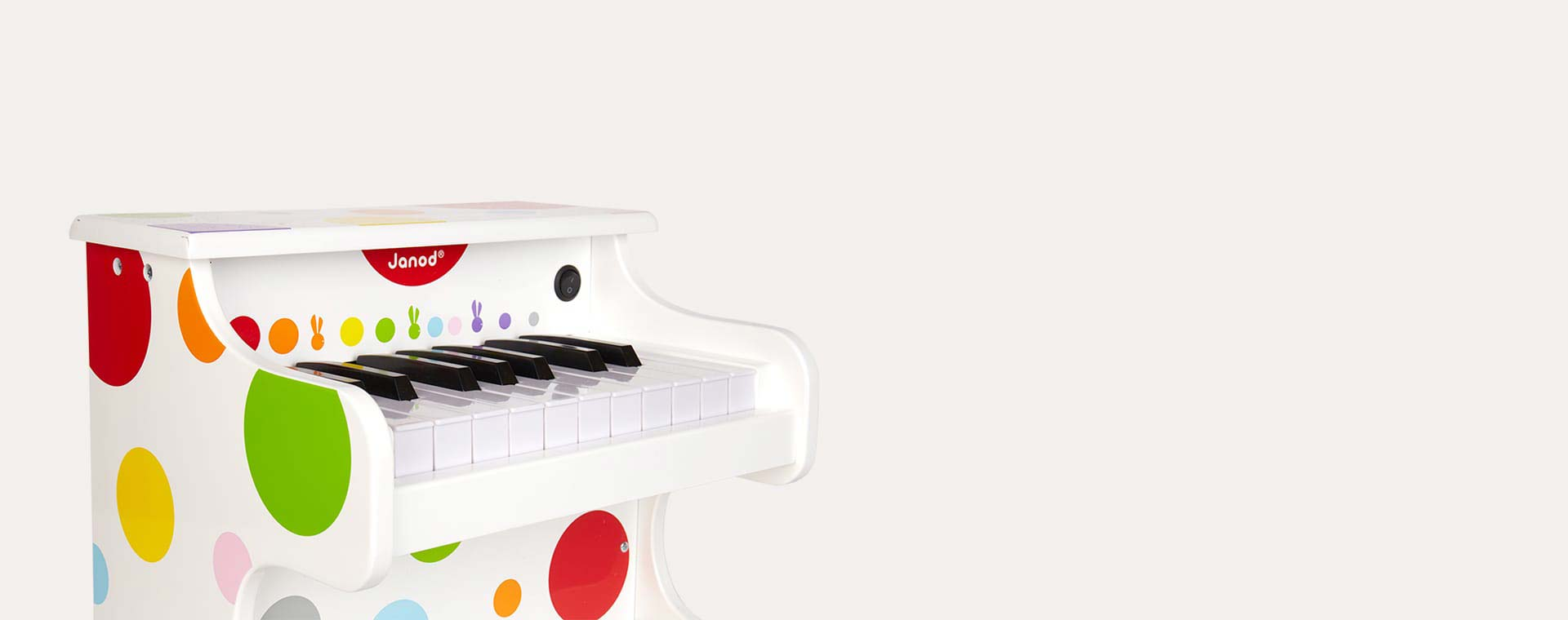 Multi Janod My First Confetti Electronic Piano