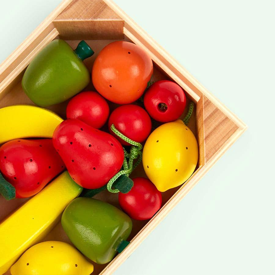 Multi Janod 12 Fruits Crate