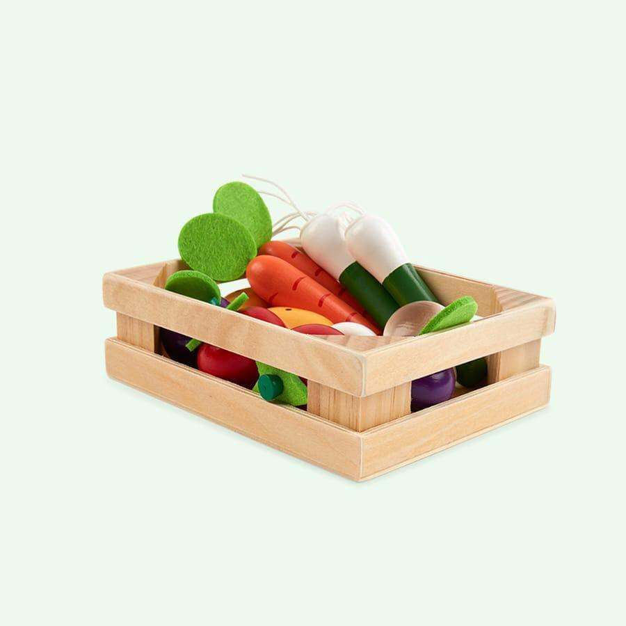 Multi Janod 12 Vegetables Crate