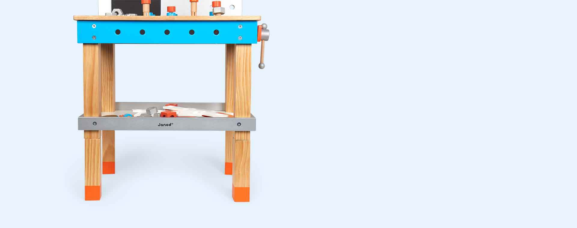 Multi Janod Brico'Kids DIY Giant Magnetic Workbench