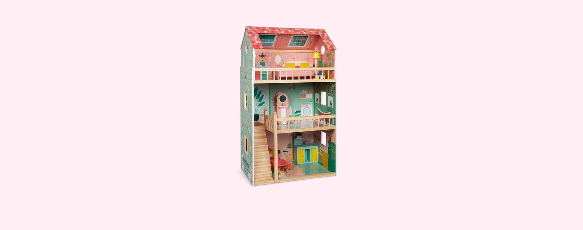 Multi Janod Happy Day Dolls House