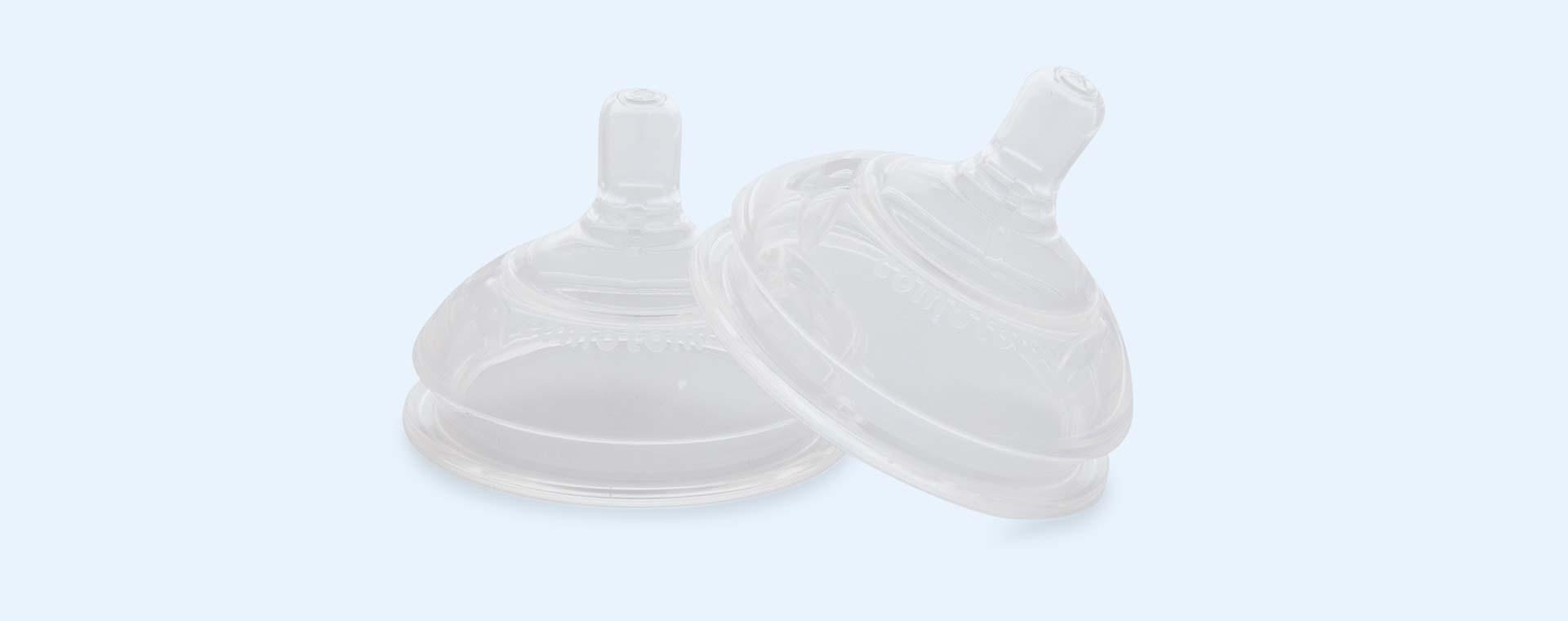 Clear Comotomo Teat Pack Slow Flow