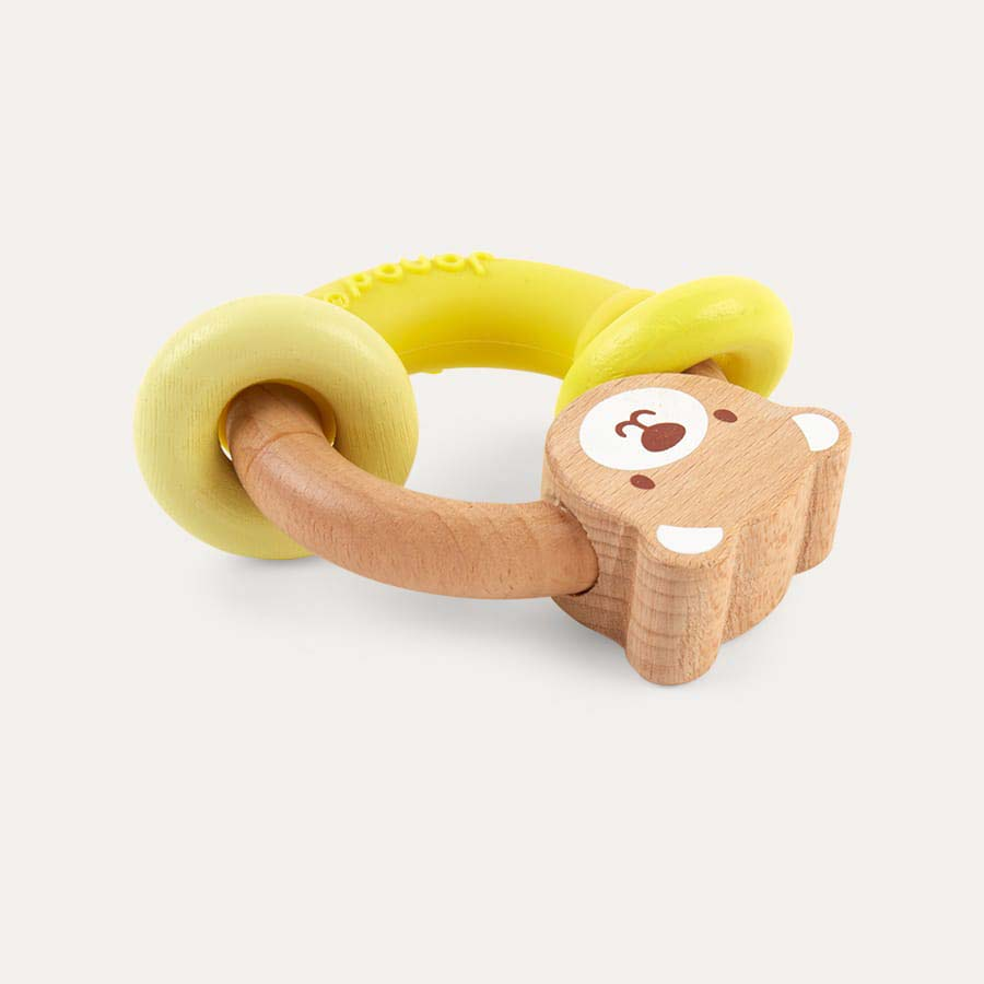 Neutral Janod Baby Pop Bear Rattle