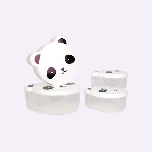Panda A Little Lovely Company Snack Box Set