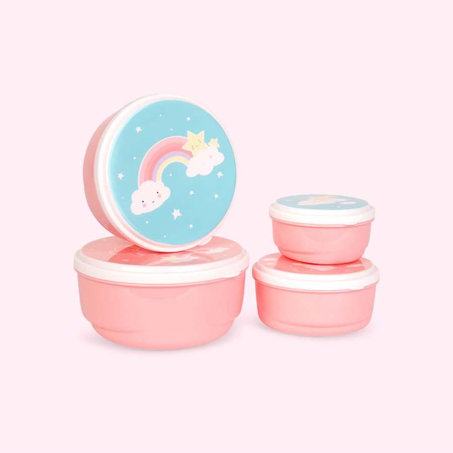 Unicorn A Little Lovely Company Snack Box Set