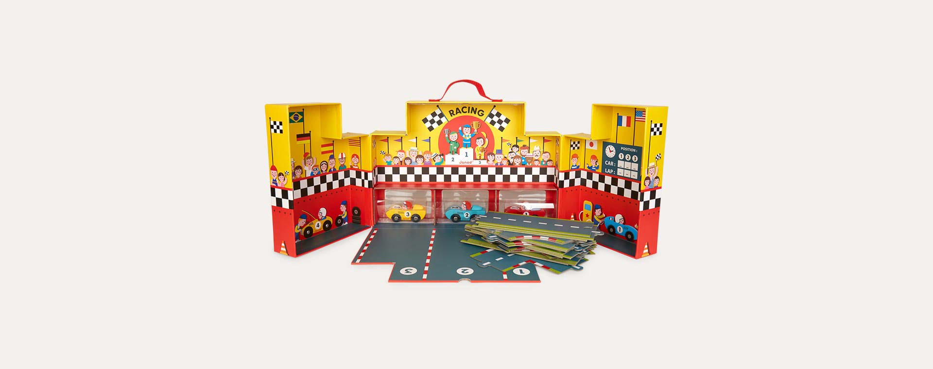 Multi Janod Story Grand Prix Suitcase
