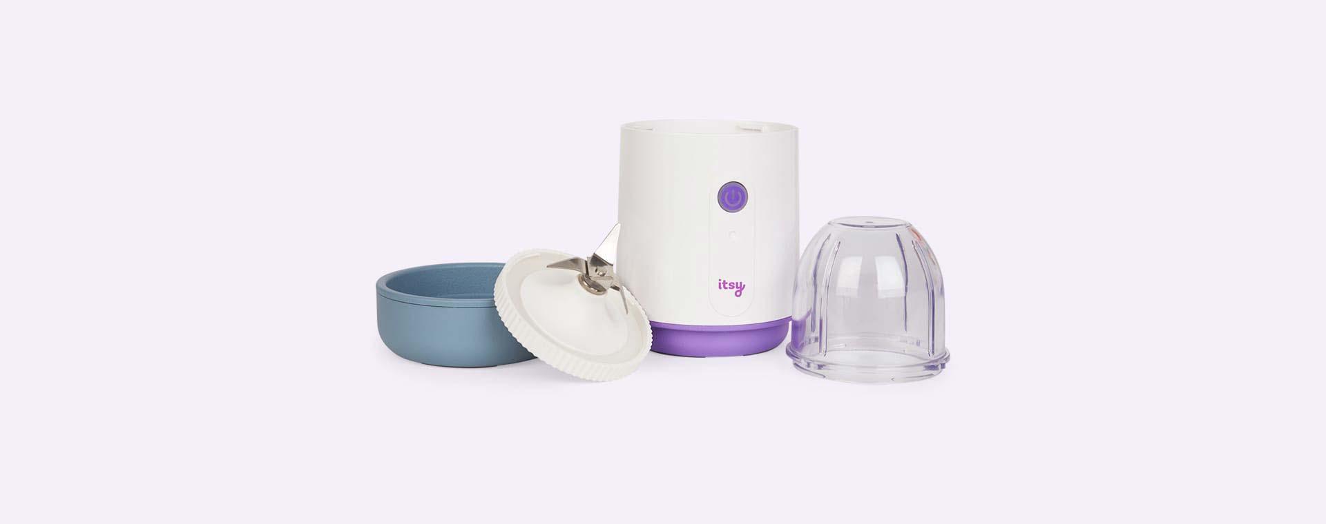 White Itsy Blitz Portable Weaning Blender