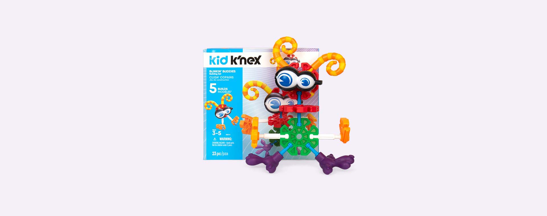 Multi K'Nex Blinkin' Buddies Building Set