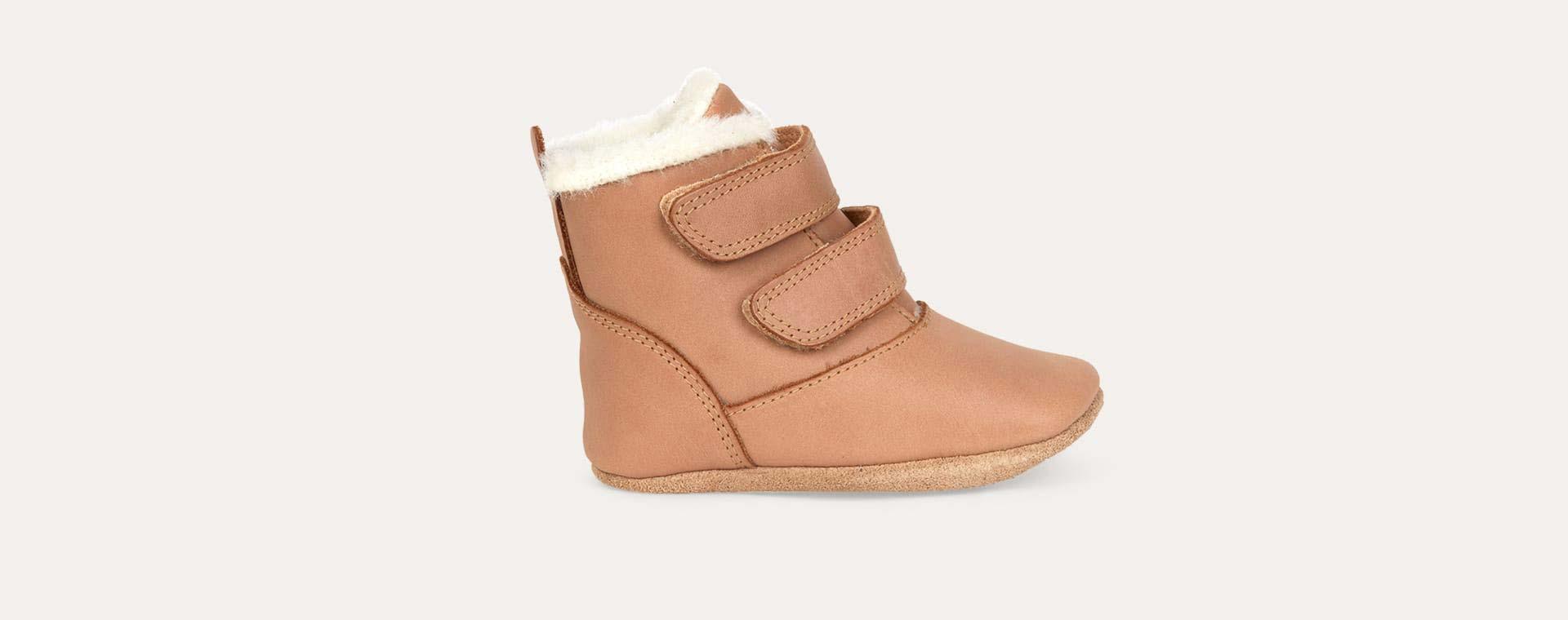 Caramel Bobux Aspen Soft Sole Boot