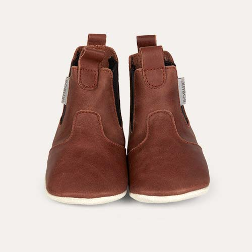 Toffee Bobux Jodphur Soft Sole