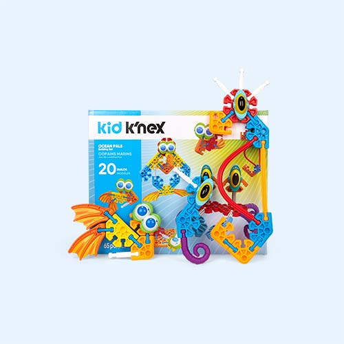 Multi K'Nex Ocean Pals Building Set