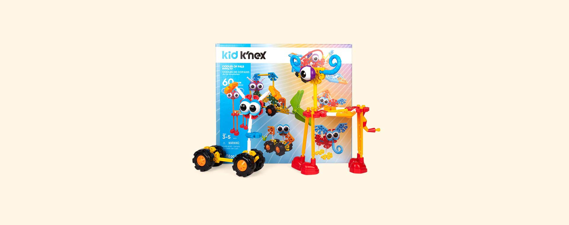 Multi K'Nex Oodles of Pals Building Set