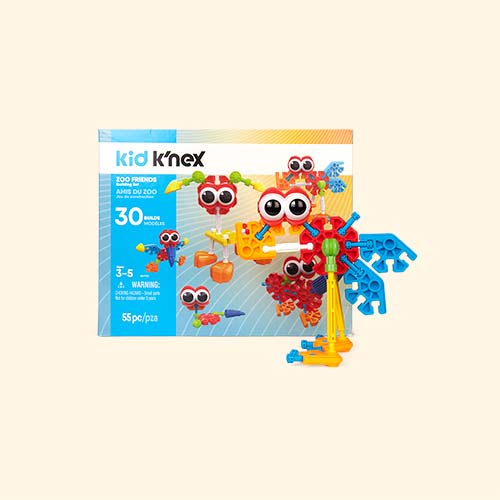 Multi K'Nex Zoo Friends Building Set