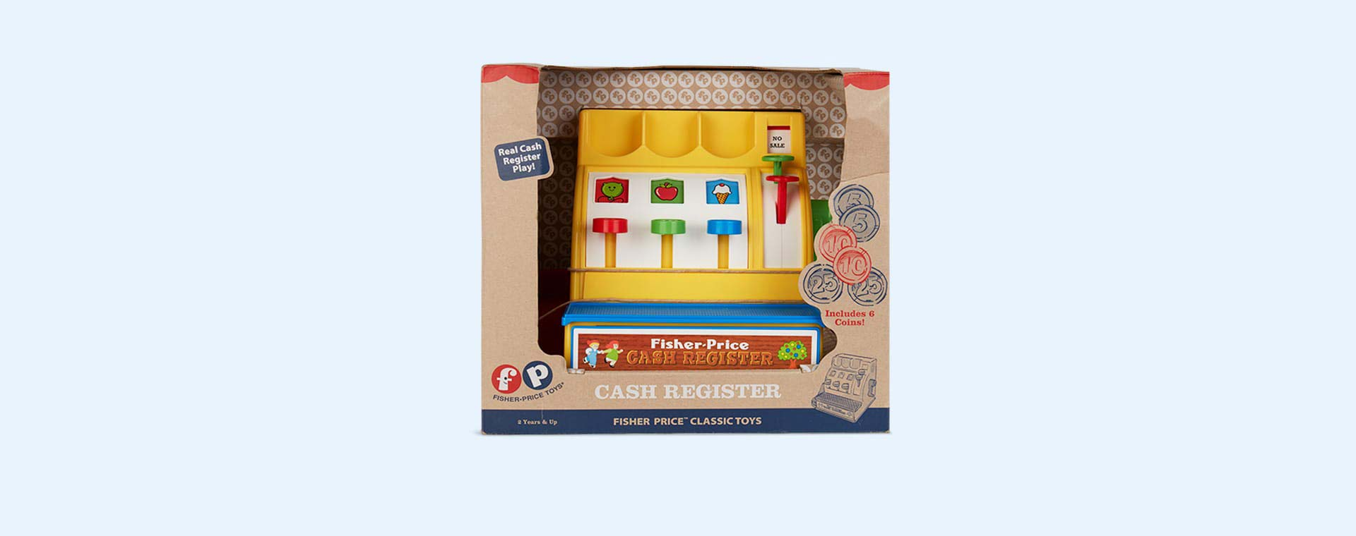 Multi Fisher Price Classic Toys Cash Register
