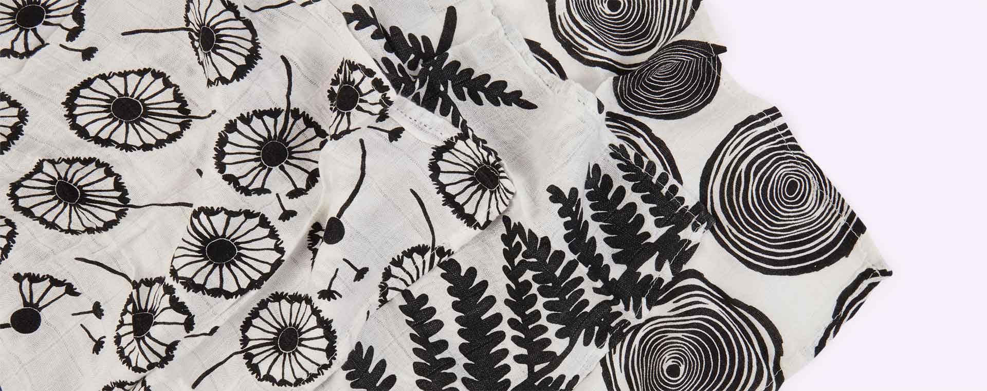 Plants Etta Loves Sensory Muslins - 3 Pack