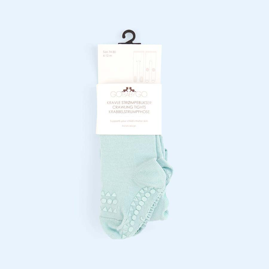 Mint Go Baby Go Crawling Tights