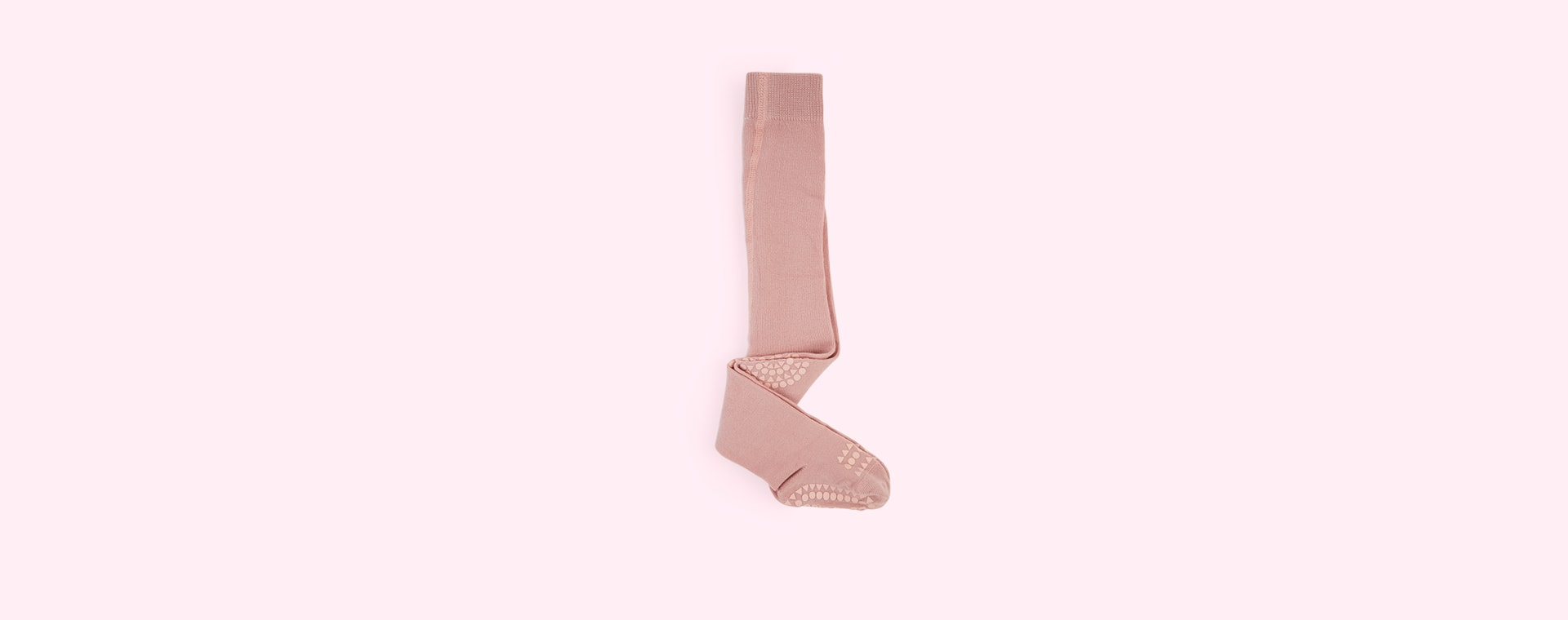 Light Pink Go Baby Go Crawling Tights