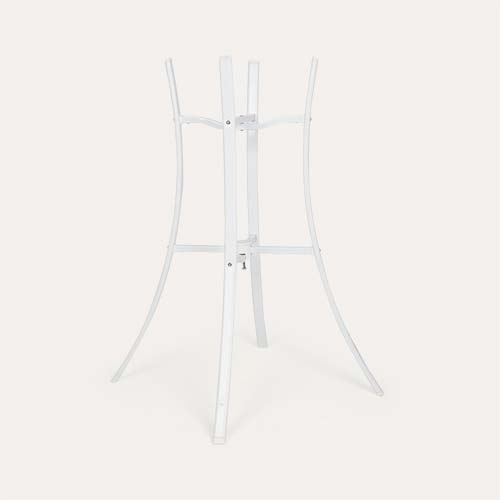 White Shnuggle Folding Bath Stand