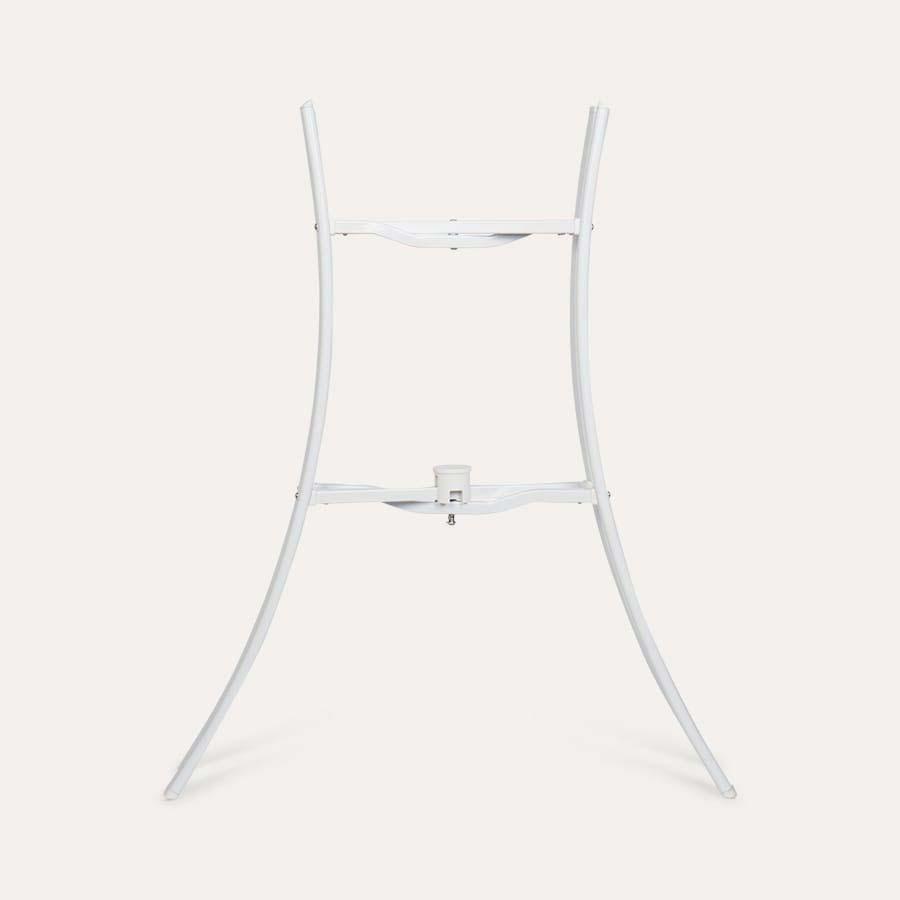 White Shnuggle Folding Bath Stand