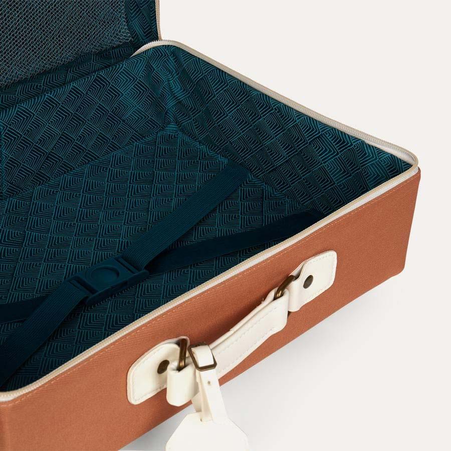 Rust Olli Ella See-Ya Suitcase