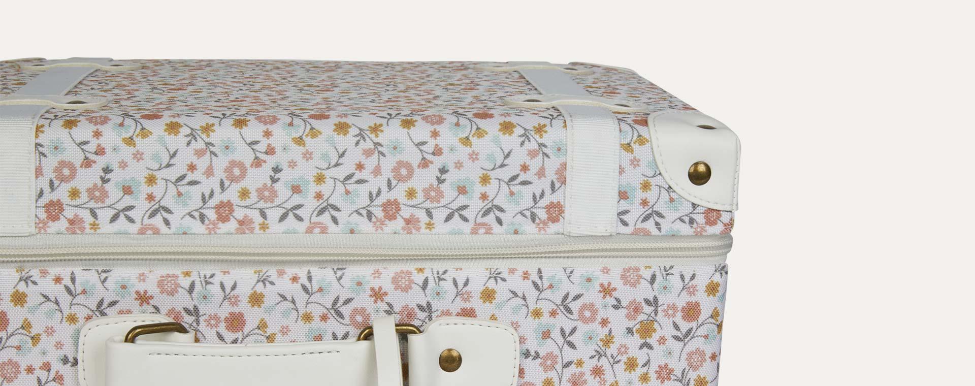 Floral Olli Ella See-Ya Suitcase