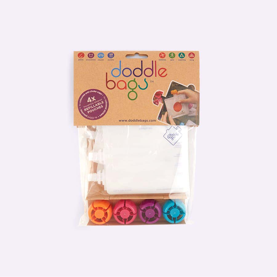 Multi DoddleBags Doddle Bags 4 Pack