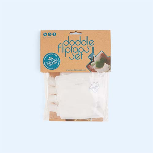 Multi DoddleBags Doddle Flip Top Set - 4 Pack