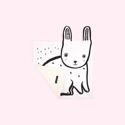 Rabbit Wee Gallery Snuggle Blanket
