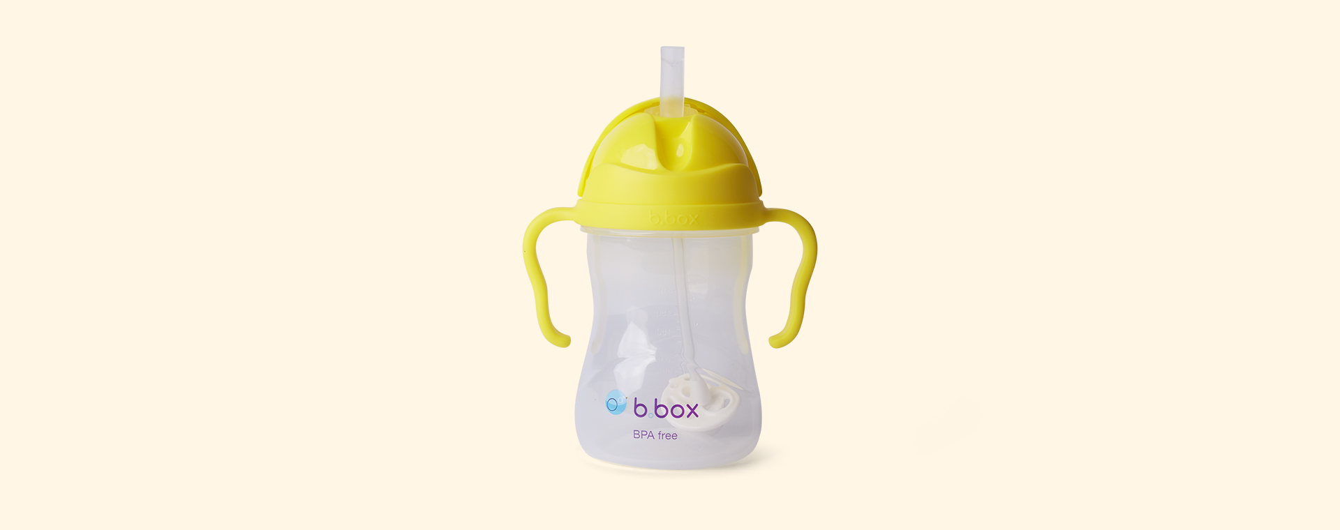 Lemon b.box Sippy Cup