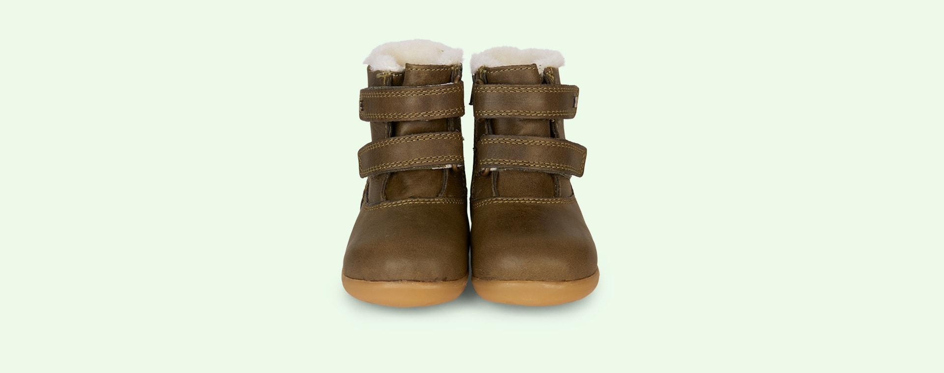 Olive Bobux Aspen Lined Step-Up Boot