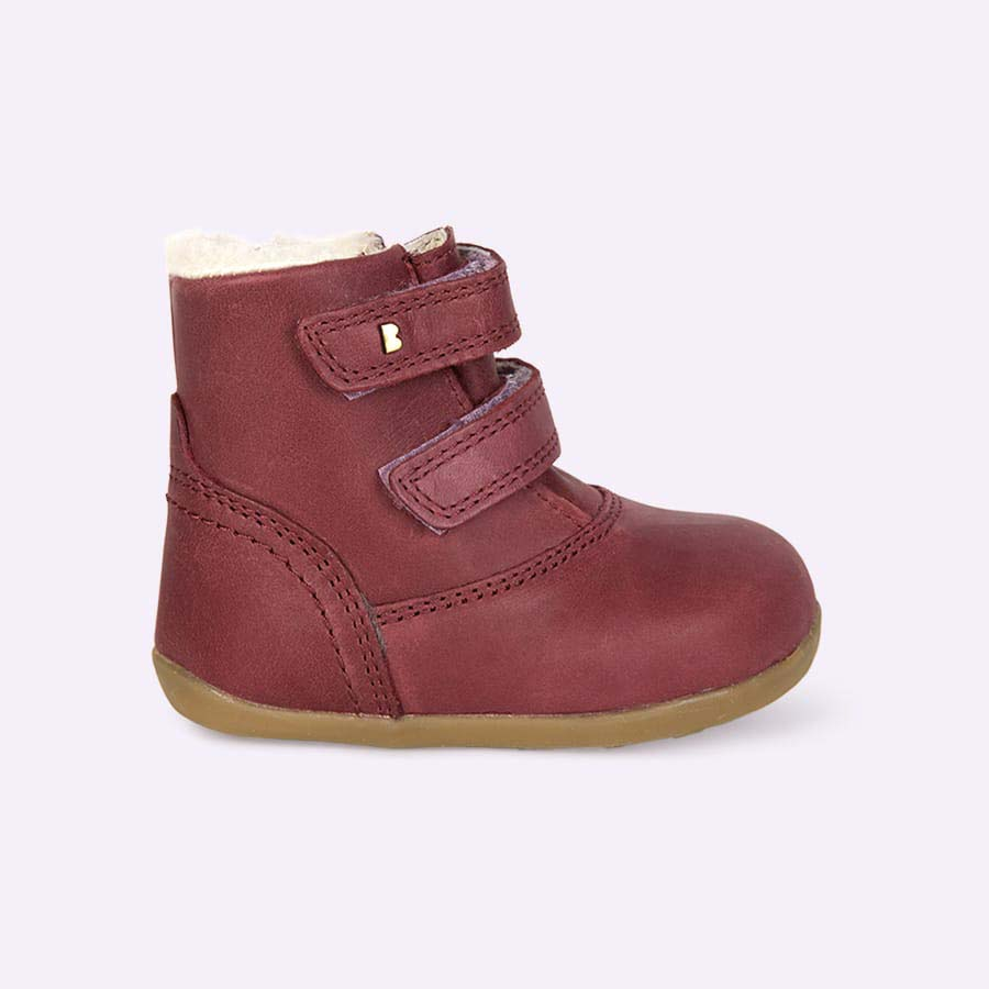 Plum Bobux Aspen Lined Step-Up Boot