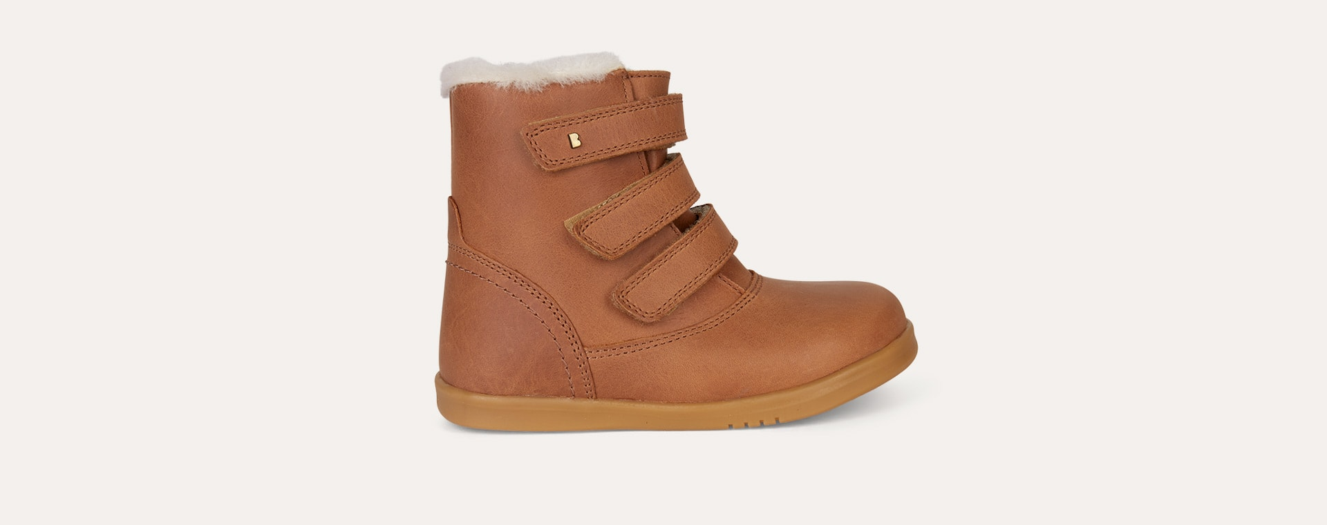 Caramel Bobux Aspen Lined Kid+ Boot