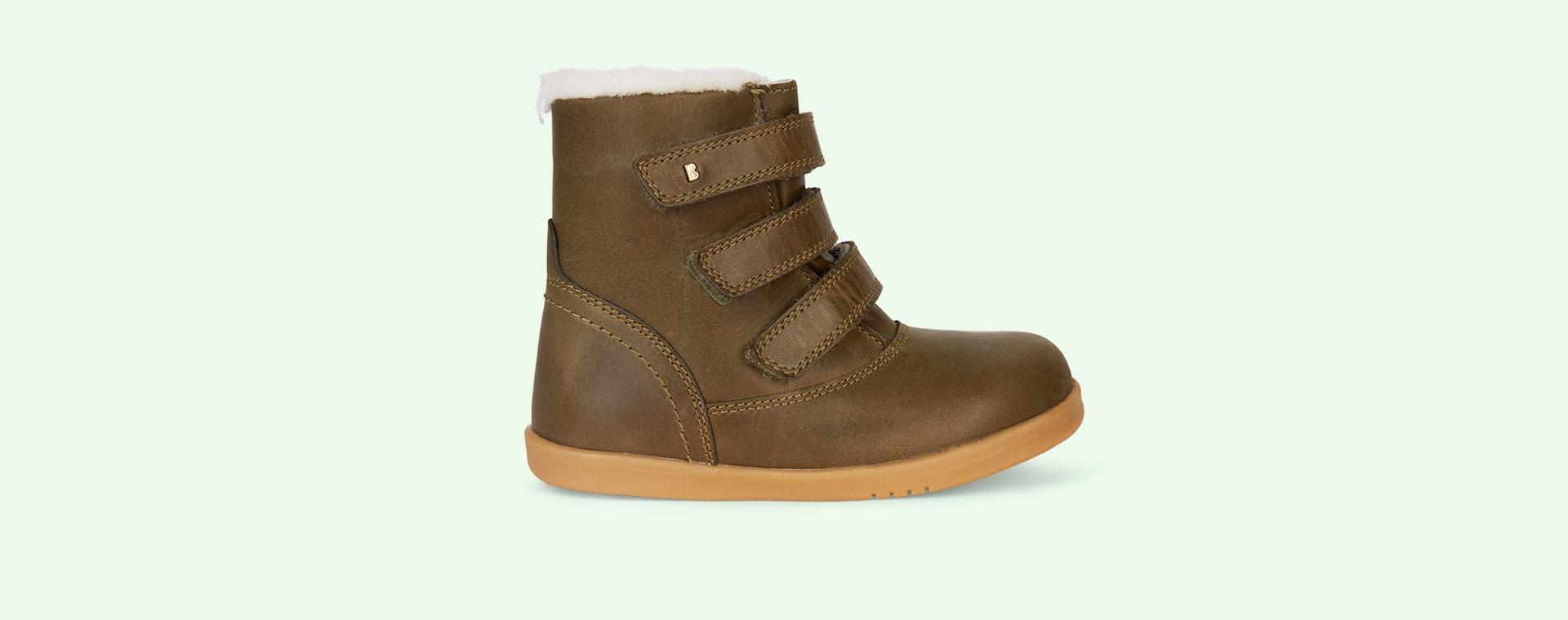 Olive Bobux Aspen Lined Kid+ Boot